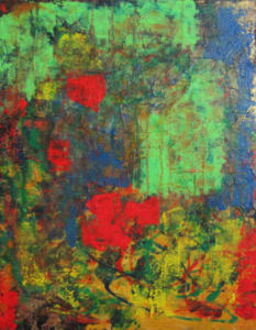 Destination in Motion 28x22 acrylic on canvas